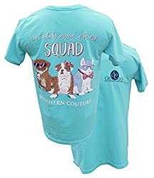Southern Couture Aint Nobody Messin with My Squad Short-Sleeve Tee Shirt