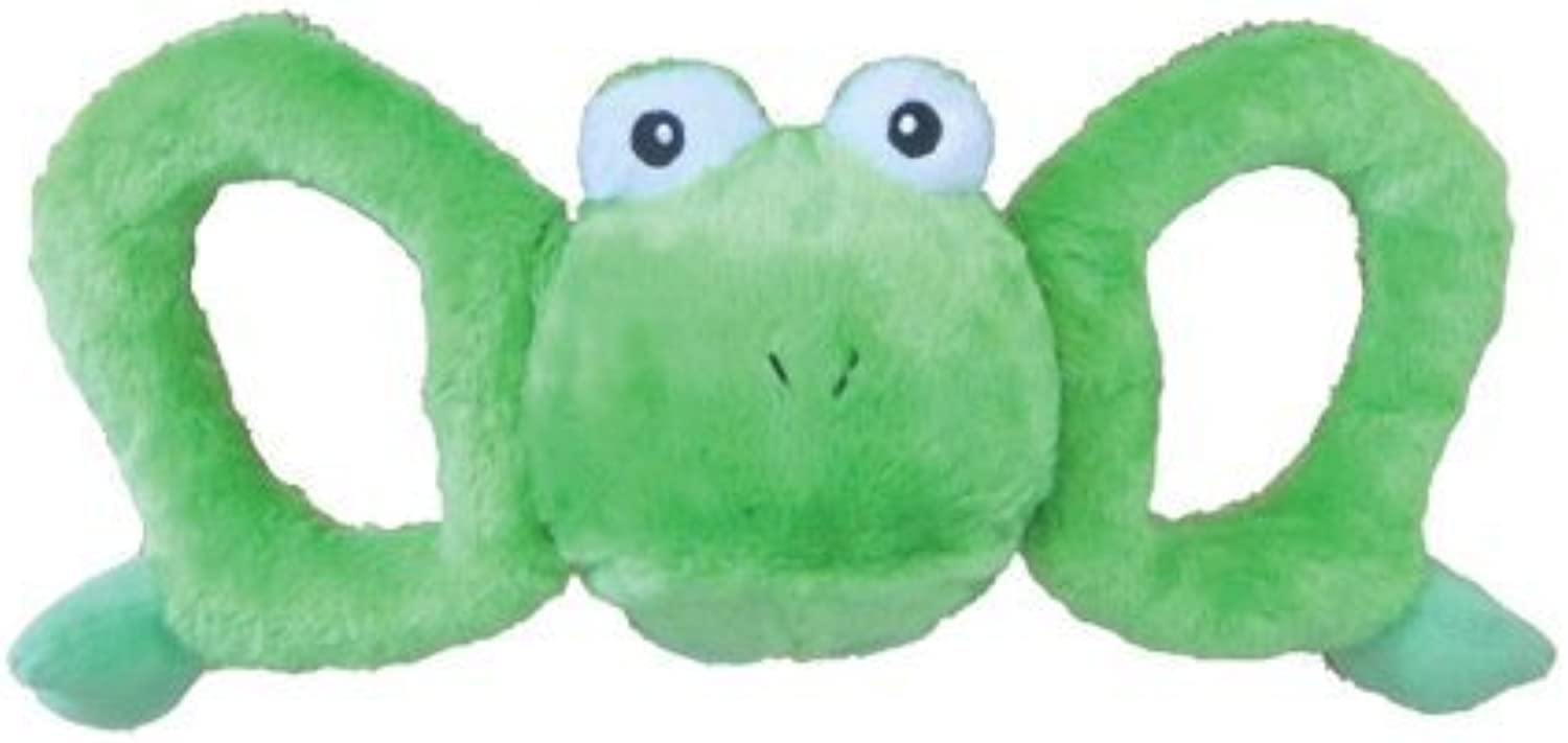 Jolly Pets TugaMal Frog Squeaky Toy for Pets, XLarge by Horesemans Pride Jolly Pets