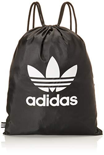 adidas Gymsack Trefoil Sports Bag, Black, NS