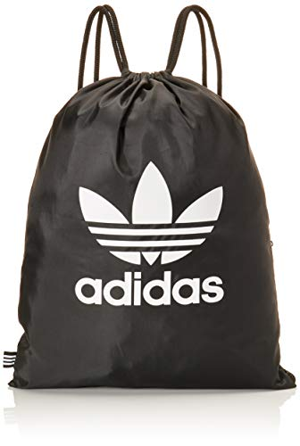 adidas Gymsack Trefoil Sports Bag, Black, NS