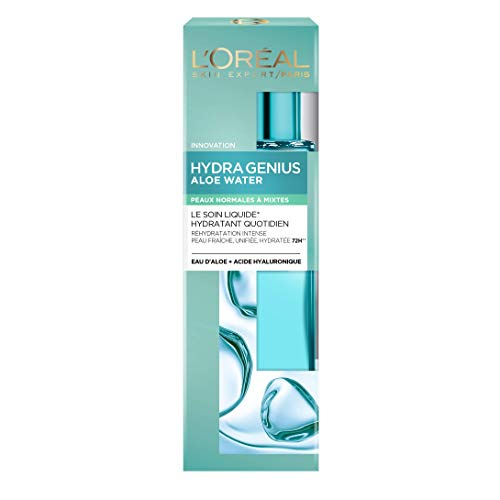 L'Oréal Paris Hydra Genius Soin Liquide Hydratant Visage Peau Normale à Mixte 70 ml