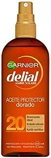Garnier Delial Aceite Protector Solar Dorado Sublime para