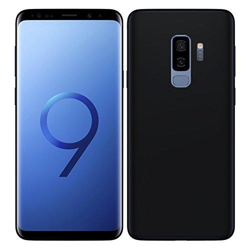 TBOC® Schwarz Gel TPU Hülle für Samsung Galaxy S9 Plus - S9+ (6.2 Zoll) Superdünn Flexibel Silikonhülle