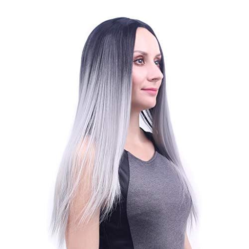 Lifelike Europe and The United States Fashion Lady Hair wig Convient à Toutes Les Femmes