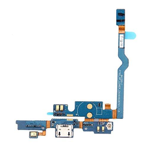 PANTAOHUAUS Panteohuaes Cable Flexible de Puerto de Carga USB y reemplazo de Cable Flexible de micrófono for LG P760 / Optimus L9 / P765 / P768