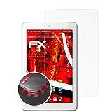 atFolix Schutzfolie kompatibel mit Odys Junior Tab 8 Pro Folie, entspiegelnde & Flexible FX Bildschirmschutzfolie (2X)