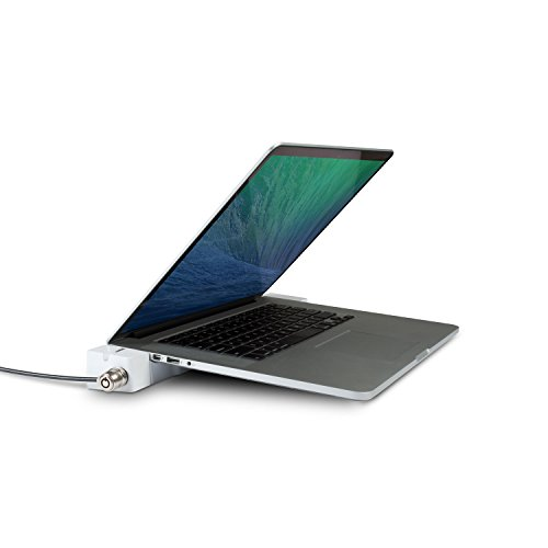 LandingZone LZ012 Dock Express Mini-DisplayPort - Estación Dock para MacBook Pro Retina de 38,1 cm/15' (5 Puertos, HDMI, Ethernet, Ranura para Tarjeta SDXC, Jack de 3,5 mm, USB 3.0), Color Blanco