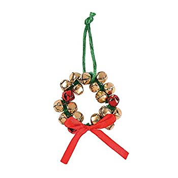 Jingle Bell Wreath Ornament Craft Kit - Crafts for Kids and Fun Home Activities