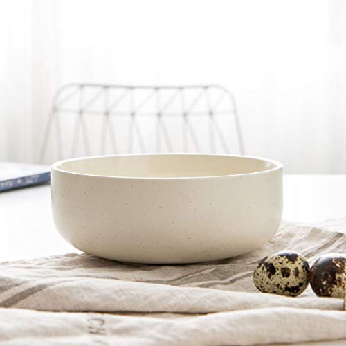 Bol en porcelaine Créative en céramique japonaise et coréenne européenne Petite soupe Riz au riz Bol à dessert domestique de 4,5 pouces Impression nordique Blanc