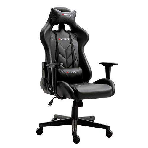 T-LoVendo Silla Gaming Oficina Racing Sillon Gamer Racer X P