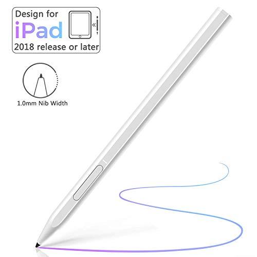 Micoo Stylus Pen, Stylus Stift für Apple mit Palm Rejection & 1,5 mm Ultrafeinen Spitzen, Active Stylus für iPad 6th / 7th, Mini 5th, Air 3rd, Pro 11