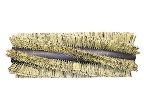 partmax® Bürstenwalze für Tennant 6400, Poly 0,4 mm und 0,8 mm, 8 x 2 Reihen, Walze, Walzenbürste, Kehrwalze