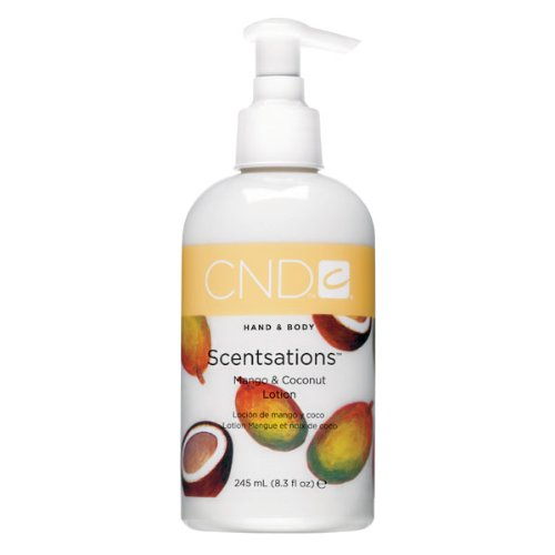 CND Hand- Bodylotion Scentsations Mango und Coconut, 1er Pack (1 x 245 ml)