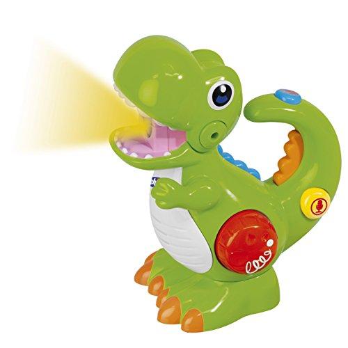 Chicco 00009613000000 T-Rex - Dino Mit Stimmrekorder und Taschenlampe, mehrfarbig
