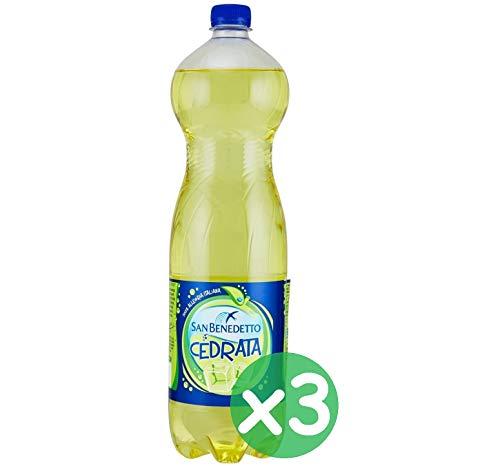 San Benedetto Cedrata Italian Lemon Soft Drink Soda PET 1,5 l