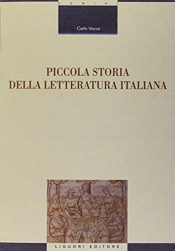 Piccola storia della letteratura italiana: 87