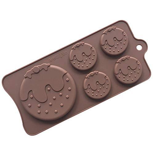 MNBV aardbei chocolade schimmel taart decoratie gereedschappen silicium mallen