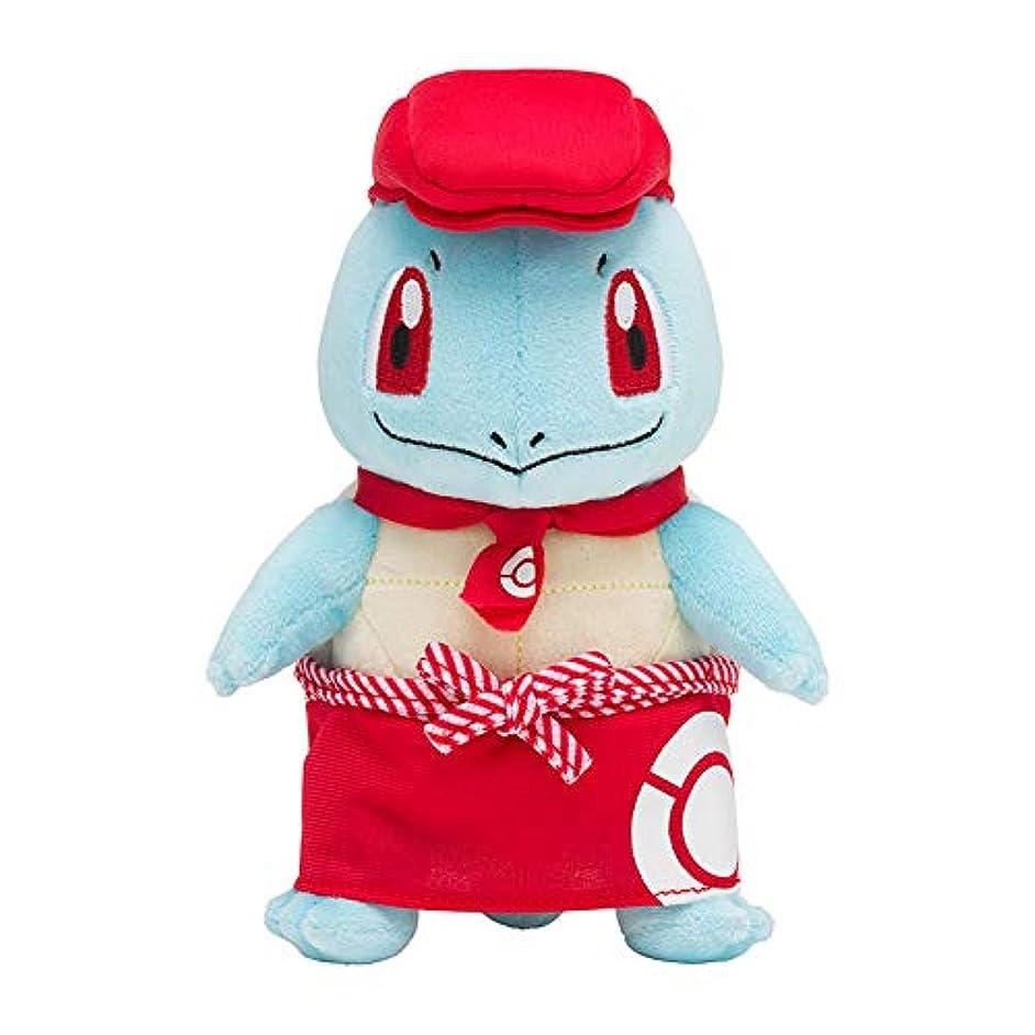 血まみれのテーブルを設定する世界ぬいぐるみ Pokémon Cafe ポケモンカフェ限定 ゼニガメ