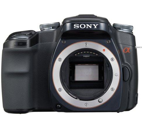 Sony DSLR-A100 SLR-Digitalkamera (10 Megapixel, BIONZ Bildprozessor) nur Gehäuse