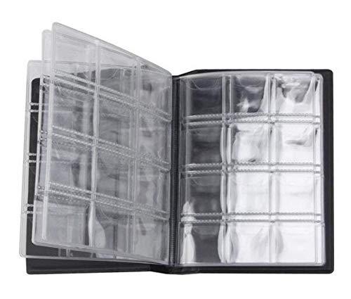 Ericotry 10 Seiten Münzalbum Münzsammler Halter 120 Taschen Album Buch Sammeln Geld Penny Taschen für Münzen Aufbewahrung Münzsammlung Buch