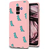 ZhuoFan Samsung Galaxy A8 2018 Case, Phone Cases Pink