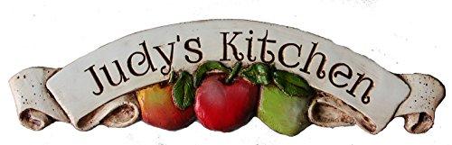 Piazza Pisano Apple Kitchen Decor Personalized Sign