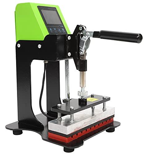 Shanrya Máquina de Estampado de Pluma, máquina de Estampado de Pluma AP1829 portátil para Bricolaje para el hogar(Rosado)