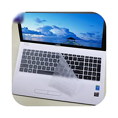 Teclado para teclado HP Pavilion 250 G6 250 G7 255 G7 G6 256 G6 258 G7-Clear