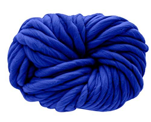 250g Yarn Wool,Knitting Blanket Chunky Yarn, Soft Thick Arm Roving Bulky Wool Yarns, DIY Crochet Thread Knit Blankets Hat Yarn