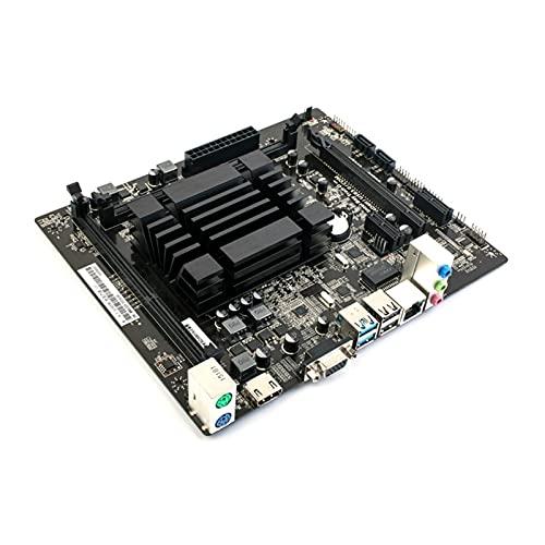 MPGIO Placa Base V20 de Doble Canal DDR3 1066 / 1333MHZ RAM para Intel Quad-Core J1900 Integrado