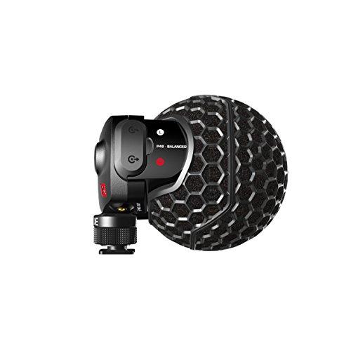 Rode Stereo VideoMic X Broadcast-Grade Stereo On-Camera Microphone Broadcast Grade Shotgun Microphone