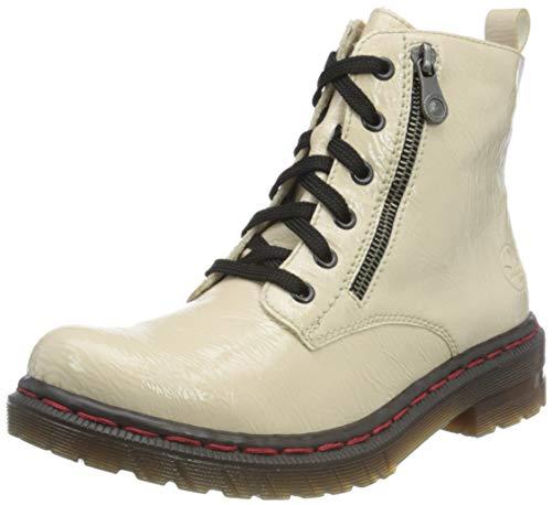 Rieker Damen 76221 Mode-Stiefel, beige 60, 39 EU