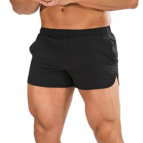 FIRSS-Herren Shorts | Sommer Beachshorts Laufen Strandshorts Slim Fit Übergröße Schwimmhose Boardshorts Workout Urlaub Freizeithose