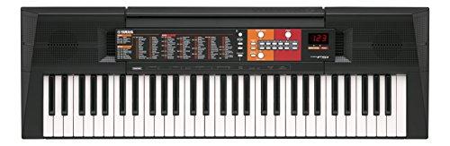 Yamaha, tastiera elettronica portatile per principianti, con 61 tasti, modello PSR-F51, colore nero (lingua italiana non garantita)
