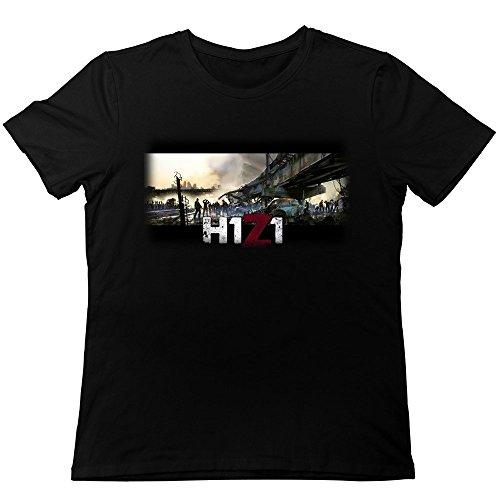 Michaner Walosde Video Games H1Z1 Poster T-Shirt for Men Large