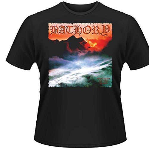Plastic Head Herren, T-Shirt, Bathory Twilight Of The Gods, Schwarz (Black), M