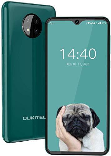 Smartphone Offerta Del Giorno,OUKITEL C19 6.49 HD Schermo Android 10.0 Batteria 4000mAh Cellulari,4G Dual SIM 13MP Triple Fotocamera Telefonia Mobile,16G ROM 256GB Espandibili(Verde)