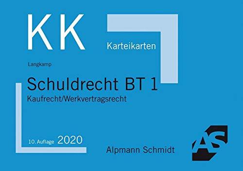 Karteikarten Schuldrecht BT 1: Kaufrecht / Werkvertragsrecht