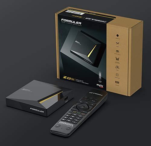 OFFICIAL UK MODEL Formuler Z8 PRO 4K UHD Ultimate Android OTT 5G TV Box with UK PLUG by FORMULER...