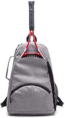 Mochila de raqueta de tenis, mochila de tenis, bolsa para tenis, raquetbol,...