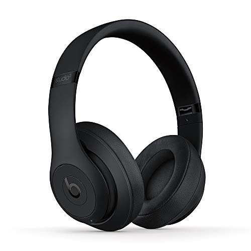 Beats Studio3 Over-Ear Bluetooth Kopfhörer mit Noise-Cancelling – Apple W1 Chip, Bluetooth der Klasse 1, aktives Noise-Cancelling, 22 Stunden Wiedergabe – Mattschwarz