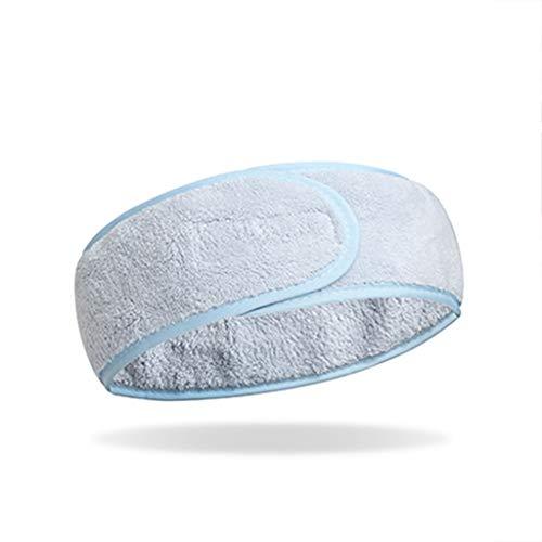 GXYAWPJ Semplice Restraint Fascia for Capelli, Salone di Bellezza casa Coperta Sport, Face Wash Trucco Maschera Fascia for Capelli (Color : Blue)