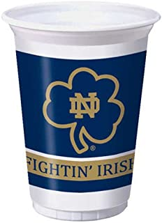 Notre Dame Fighting Irish 20 oz. Plastic Cups, 8-Count