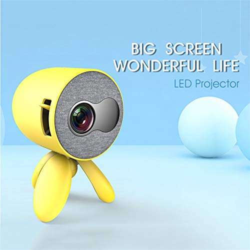 For Sale! TongBao Portable Mini Projector, LED Video Projector Compatible with USB/HDMI/SD/AV, Pocke...