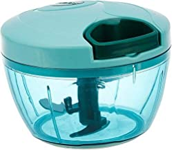 AMPLE EMPORIUM New Handy Ring Plastic Chopper with 3 Blades-Cutter-Processor-500ML