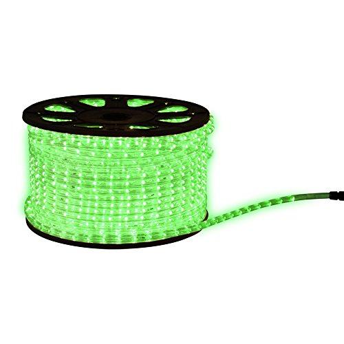 Tubo luminoso LED 8meter luce del tubo tubo 8mweihnachtsbeleuchtung incluso cavo di alimentazione, 230.00 voltsV