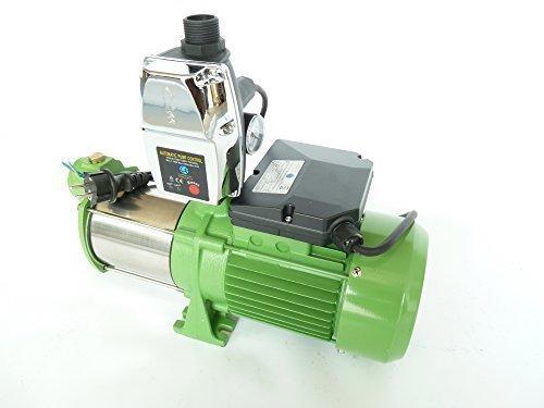 Inox 10200 L/h Gartenpumpe 170-5SH mit intelligenter Steuerung EPC-4. Leistung Pumpe 1500 Watt INOX , Spannung 230V/50Hz 5,5bar Schaufelräder und Welle aus robusten rostfreien Edelstahl.