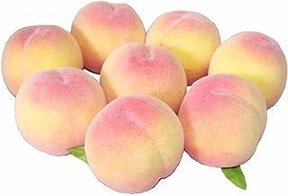 GuCra 桃 本物そっくりな模型 8個セット 食品サンプル 果物模型 (ノーマル)