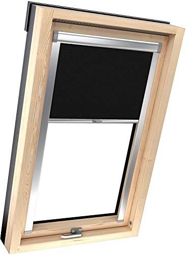 DECOR-TRADE Dachfenster-Rollo für Dachfenster innen, Verdunkelungsrollo mit Sicht- und Sonnenschutzfunktion in 13 Farben, UV-Schutz, geeignet für Fakro- und Velux-Fenster