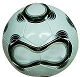 VARILANDO Fußball mit Ballpumpe Freizeit-Fußball Freizeitball Größe 5 aus Kunststoff
